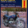 Honda CB400 & CB550 Fours (Haynes 0262)