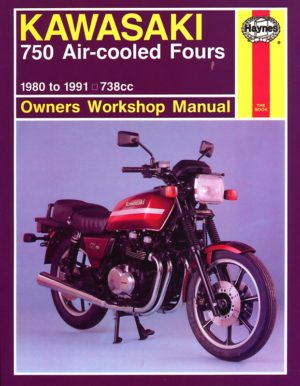 Kawasaki 750 Air-cooled Fours 1980 - 1991 (Haynes 0574)