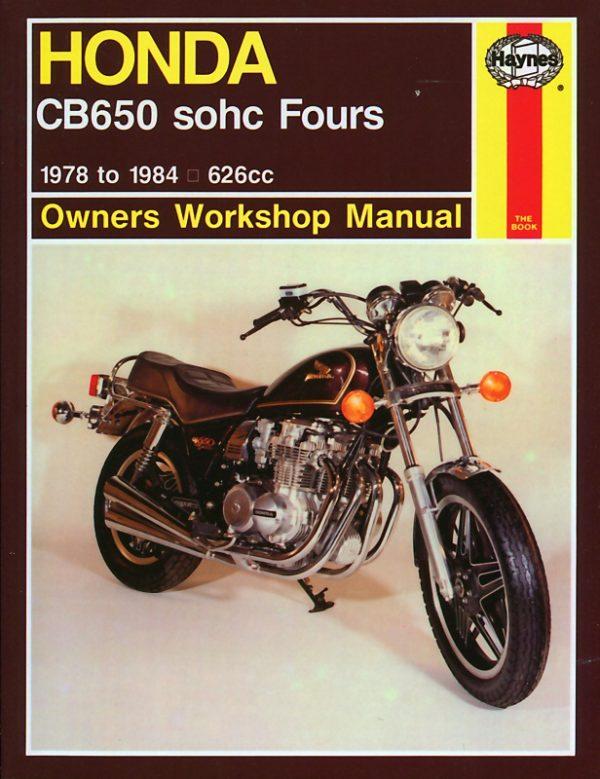 Honda CB650 sohc Fours 1978 - 1984 (Haynes 0665)