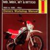 Honda MB, MBX, MT & MTX50 1980 - 1993 (Haynes 0731)