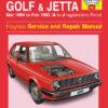 Volkswagen Golf and Jetta Mk 2 Petrol 1984 - 1992 (Haynes 1081)
