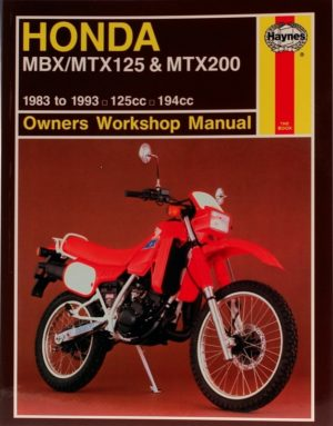Honda MBX/MTX125 and MTX200 1983 - 1993 (Haynes 1132)