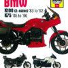 BMW K100 and 75 2-valve Models (Haynes 1373)