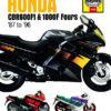 Honda CBR600F1 and 1000F Fours (Haynes 1730)