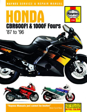 Honda CBR600F1 and 1000F Fours (Haynes 1730)