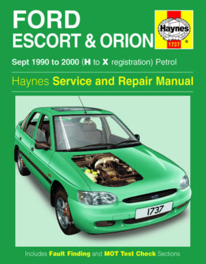 Ford Escort and Orion Petrol (Haynes 1737)