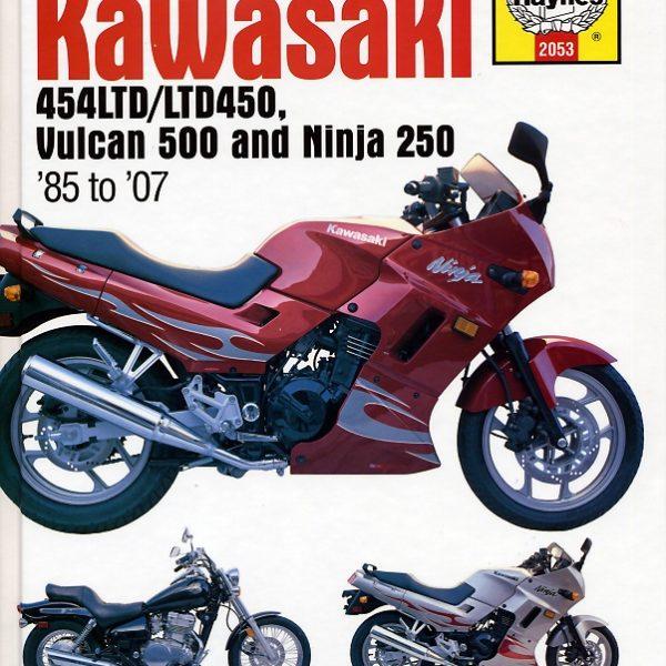 Kawasaki 454LTD / LTD450, Vulcan 500 & Ninja 250 (Haynes 2053)