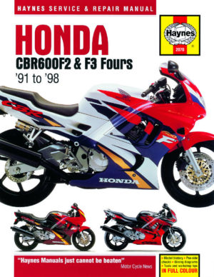 Honda CBR600F2 and F3 Fours  91 to 98 (Haynes 2070)