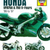 Honda VFR750 and 700 V-Fours (Haynes 2101)
