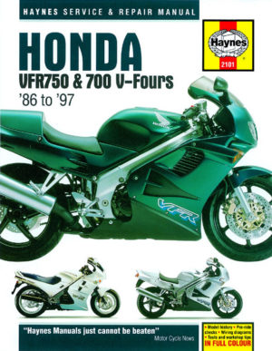 Honda VFR750 and 700 V-Fours (Haynes 2101)