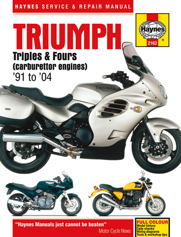 Triumph Triples and Fours (carburettor engines) (Haynes 2162)
