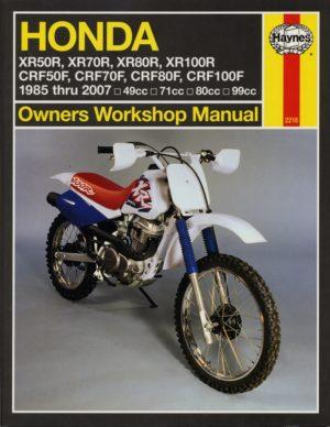Honda XR50 / 70 / 80 / 100R & CRF50 / 70 / 80 / 100F (Haynes 2218)