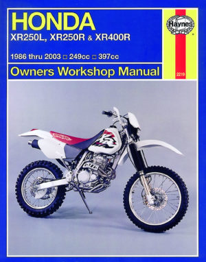 Honda XR250L, XR250R and XR400R  1986 - 2003(Haynes 2219)