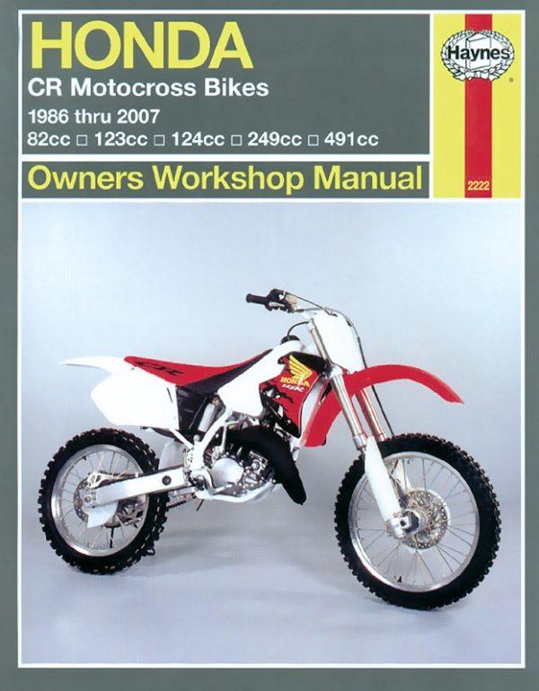 Honda CR Motocross Bikes (Haynes 2222)