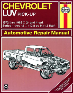 Chevrolet LUV Pick-up (Haynes 24050)