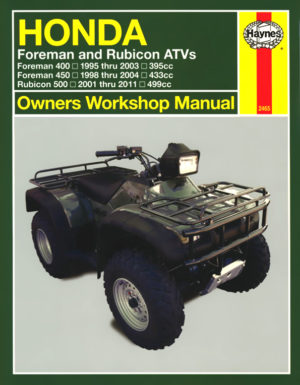 Honda Foreman and Rubicon ATVs (Haynes 2465)