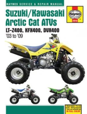 Suzuki / Kawasaki Artic Cat ATVs (Haynes 2910)