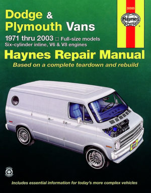 Dodge & Plymouth Vans (Haynes 30065)