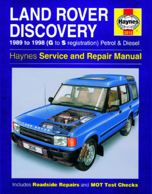 Land Rover Discovery Petrol and Diesel 1989 - 1998 (Haynes 3016)