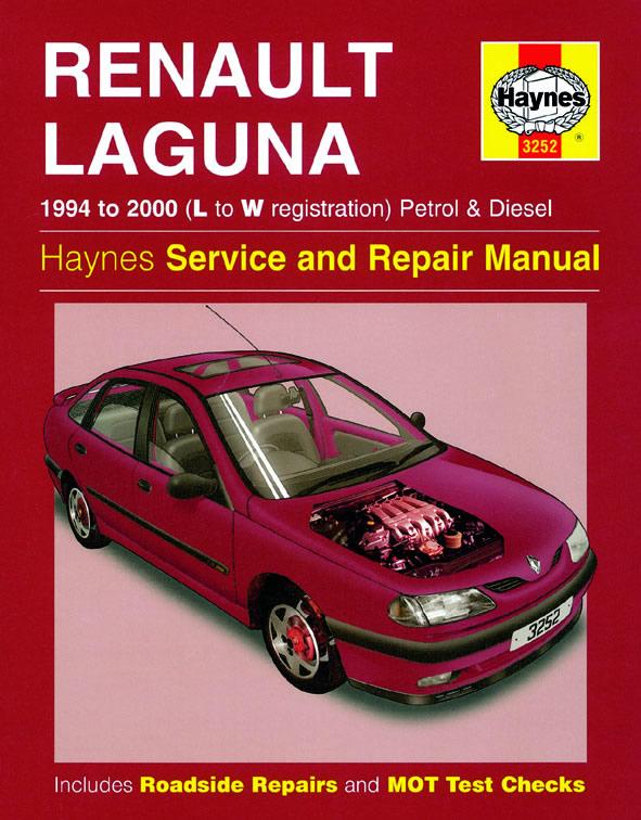 Renault Laguna Petrol and Diesel (Haynes 3252)