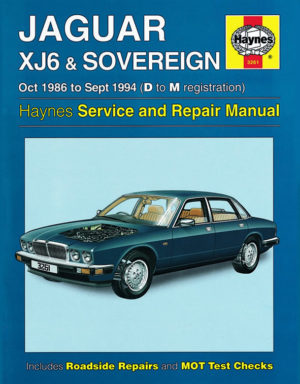 Jaguar XJ6 and Sovereign (Haynes 3261)