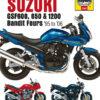 Suzuki GSF600, 650 & 1200 Bandit Fours 1995 - 2006 (Haynes 3367)
