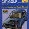 Volkswagen Citi Golf Petrol 1983 - 1997 (Haynes 3463)