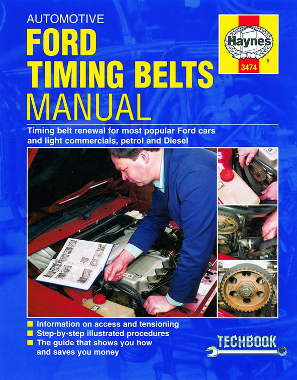 Automotive Timing Belts Manual - Ford (Haynes 3474)