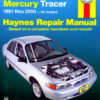 Ford Escort and Mercury Tracer (Haynes 36020)