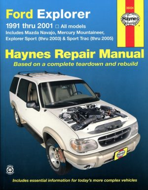 Ford Explorer, Mazda Navajo and Mercury Mountaineer (Haynes 36024)