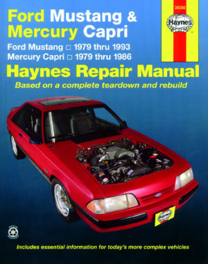 Ford Mustang and Mercury Capri (Haynes 36050)
