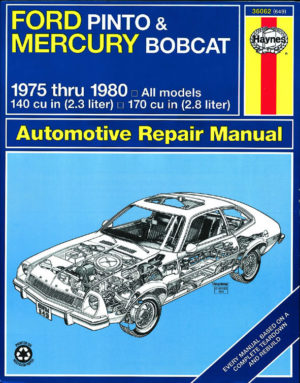 Ford Pinto and Mercury Bobcat (Haynes 36062)