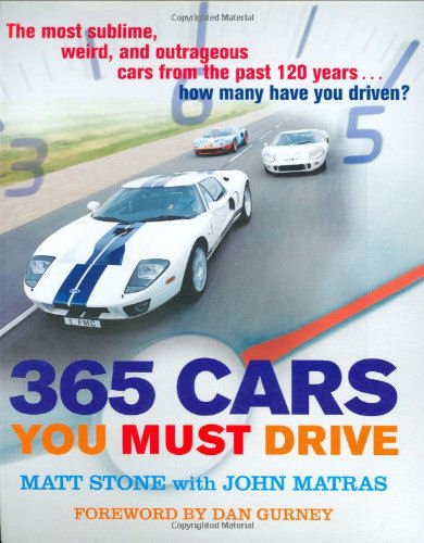 365 Cars you must Drive  (MBI 140306)