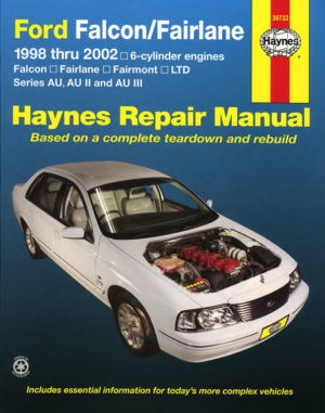Ford Falcon, Fairlane, Fairmont & LTD 1998 - 2002 (Haynes 36733)