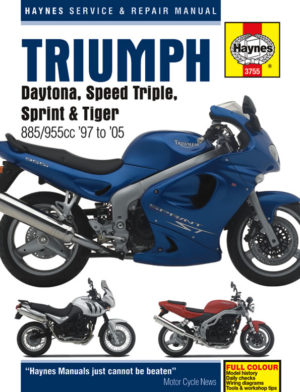 Triumph Fuel Injected Triples 1997 - 2005 (Haynes 3755)