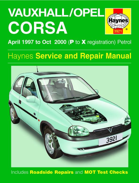 Opel Corsa Petrol 1997 - 2000 (Haynes 3921)