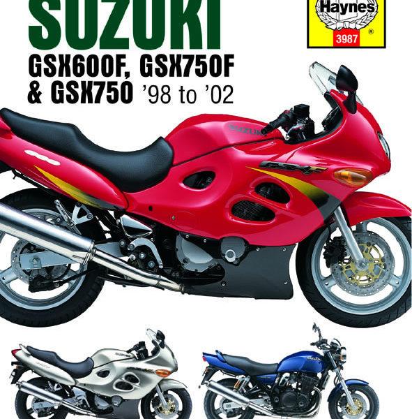 Suzuki GSX600 / 750F and GSX750 Repair Manual 98-02 (Haynes 3987)