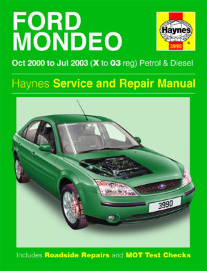 Ford Mondeo Petrol and Diesel (Haynes 3990)