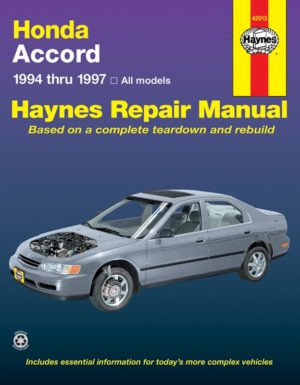 Honda Accord (Haynes 42013)