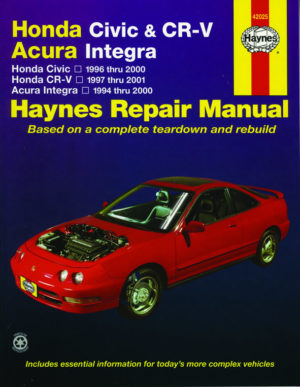 Honda Civic and CR-V Acura Integra (Haynes 42025)