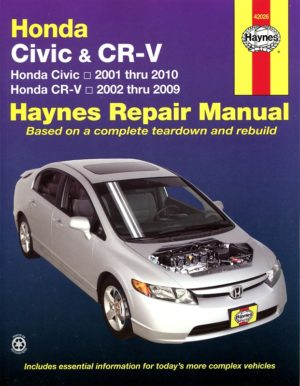 Honda Civic & CR-V 02-09 (Haynes 42026)