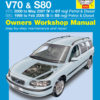 Volvo V70 & S80 Petrol & Diesel 1998-2007 (Haynes 4263)