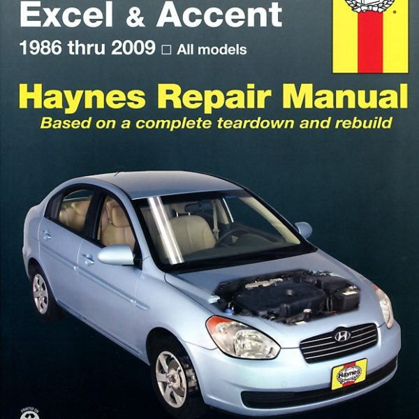 Hyundai Excel and Accent 1986 - 2013 (Haynes 43015)