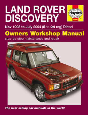 Land Rover Discovery Diesel 1998 - 2004 (Haynes 4606)