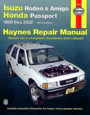 Isuzu Rodeo, Amigo and Honda Passport (Haynes 47017)