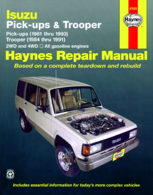 Isuzu Trooper and Pick-up (Haynes 47020)