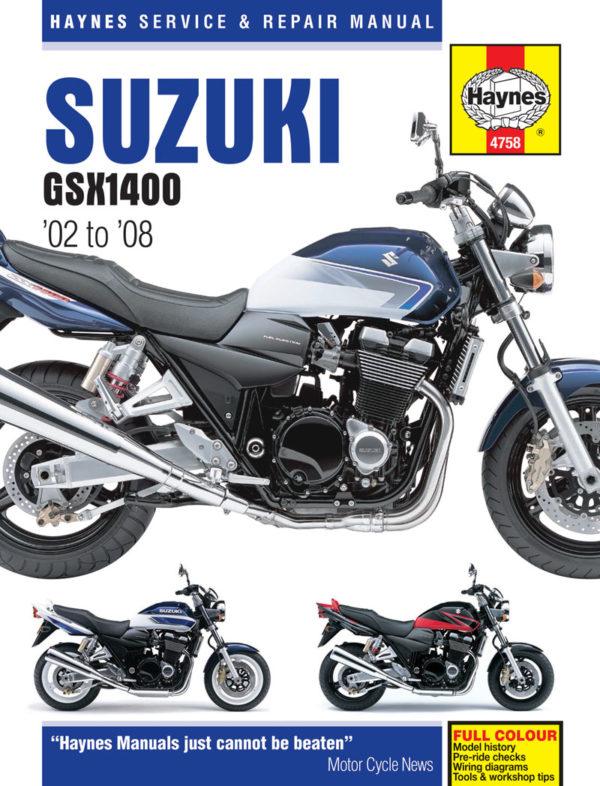 Suzuki GSX1400 (Haynes 4758)