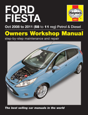 Ford Fiesta (Figo) Petrol & Diesel 2008 - 2012 (Haynes 4907)