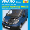 Opel Vivaro Diesel 2001 - 2011 (Haynes 5552)