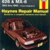 Mazda 626 and MX-6 FWD (Haynes 61041)